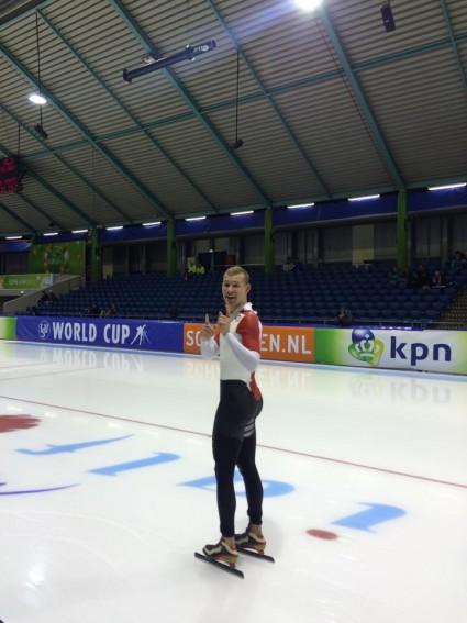 Viktor kørte ny Dansk Rekord på 5000 meter!!!!!! Med hele 3,5 sekund! 6.31,43!!!