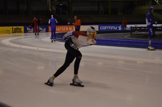 Oliver Lindenskov skøjter ny PB på 1500 m. i 1.57.56, Thialf, Heerenveen