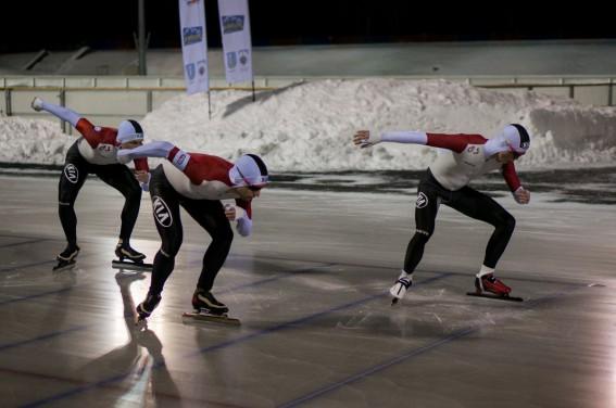 Det Danske teamsprint hold. (foto: Daniel Yeow)